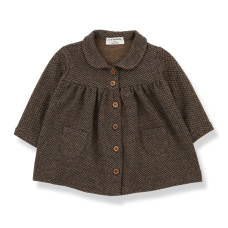 Bruin kleedje - Bonnie Charcoal