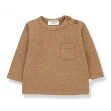Lichtbruine t-shirt - Oriol brandy