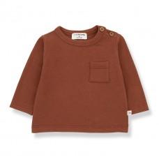 Bruinrode t-shirt - Oriol brick