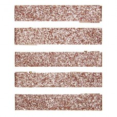 Bronskleurige glitterspeldjes