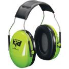 Groene gehoorbeschermer - peltor kids