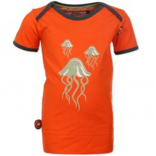 Oranje t-shirt - Waikiki- The ocean- Vamos a la playa : maat 50/56
