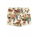 Shortje met bloemenprint - Gardenia  - maat 86-92 (Geboortelijst ...)