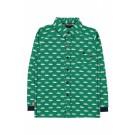 Groen hemd met auto's - Paris shut up and drive