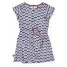 Kobalblauw kleed met waterlelies - Lily was here