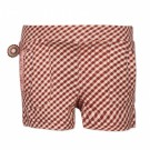 Bordeaux geruit shortje - country style - Incredible short