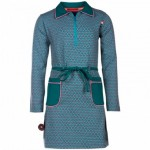 Grijsgroen kleed met sterrenprint - Astronomy steady, as she goes