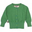 Groene cardigan - See-  call me - maat 62-68 (Geboortelijst Marie V.)