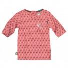 Roze blouse met blaasbloemetjes - smell- the wind