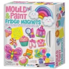 Maak je eigen magneten uit gips + schilderen