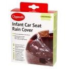 Regenhoes voor draagbare autostoel