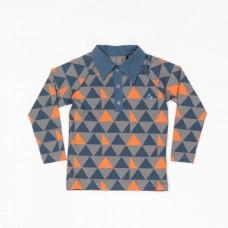Hemdje met driehoekjes  - Billy shirt casterlock big triangel