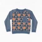 Sweater met driehoekjes - Jais sweat xasterlock big triangle