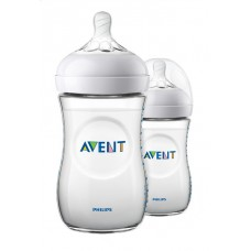 Duo-pakket Natural zuigfles Avent 2.0- 260 ml