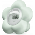Digitale bad- en kamerthermometer mintgroene Avent bloem (incl. 0,05 € recupel)