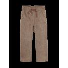 Bruine broek met motief - Am harley dark brown