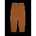 Bruine gewafelde broek - Bennie wood