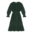 Donkergroen kleedje - Hazel thyme
