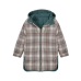 Donkergroene omkeerbare jas - Zeke thyme-check