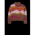 Meerkleurige gebreide trui - Roxie multicolor