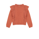 Roestbruine sweater - Copper coin philou