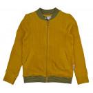Okergeel bomber vestje corduroy - bomber jacket mustard (stapelkorting)