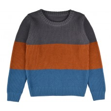 Gestreepte gebreide sweater - Pullover boys knitwear stripes