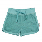 Sponsen short speckled terry aqua