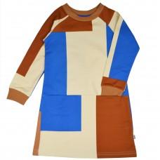 Kleedje met vlakken - Clarisse dress colorblock