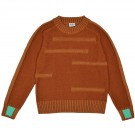 Bruine gebreide trui - Cooper pullover brown sugar