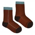 Bruine sokken - Sock choco