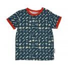 T-shirt korte mouwen met werkgerief - t- shirt boy tool - maat 62 (Geboortelijst Seppe d.C.)