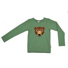 Kaki t-shirt beer- bear