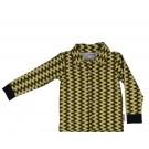 Hemdje met ijsberen - boys shirt long sleeves icebear yellow - maat 68 (Geboortelijst Finn D.B.)
