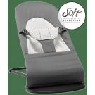 Donkergrijs / lichtgrijs wippertje babybjörn®  - Bouncer balance soft dark grey - gray (Geboortelijst Anna C.)