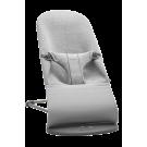 Grijs wippertje babybjörn®  - Bouncer balance bliss 3D jersey light grey