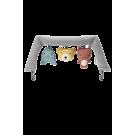 Stoffen speeltje voor wippertje babybjörn - Soft friends