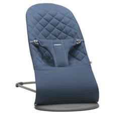 Blauw wippertje bliss babybjörn®  - Bouncer balance bliss midnight blue