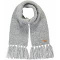 Grijze gebreide sjaal - Margaux heather grey