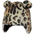 Muts met luipaardprint - Doozy earflap leopard
