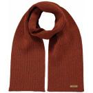 Roestbruine sjaal met multiglitter - Winnie rust