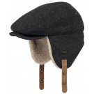 Stoere flappenmuts - Valter cap dark heather