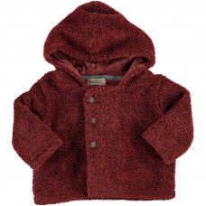 Roestkleurig teddy jasje - Snow polar coat 18tile