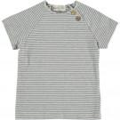 Ecru gestreepte shirt - clover