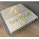 Bednest - Biomatrashoeslaken Bio Jersey crème