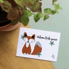 Welcome little sprout - bloeikaarten (wildbloemen)