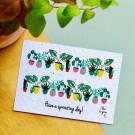 Have a sprouting day! - bloeikaarten (wildbloemen)