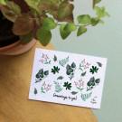 Greentings to you! - bloeikaarten (wildbloemen)
