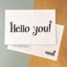 Hello You!  - bloeikaarten (wilde bloemen)