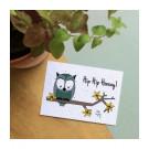 Hip hip hooray! - bloeikaarten (wildbloemen)